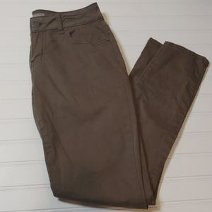 Green Skinny Pants